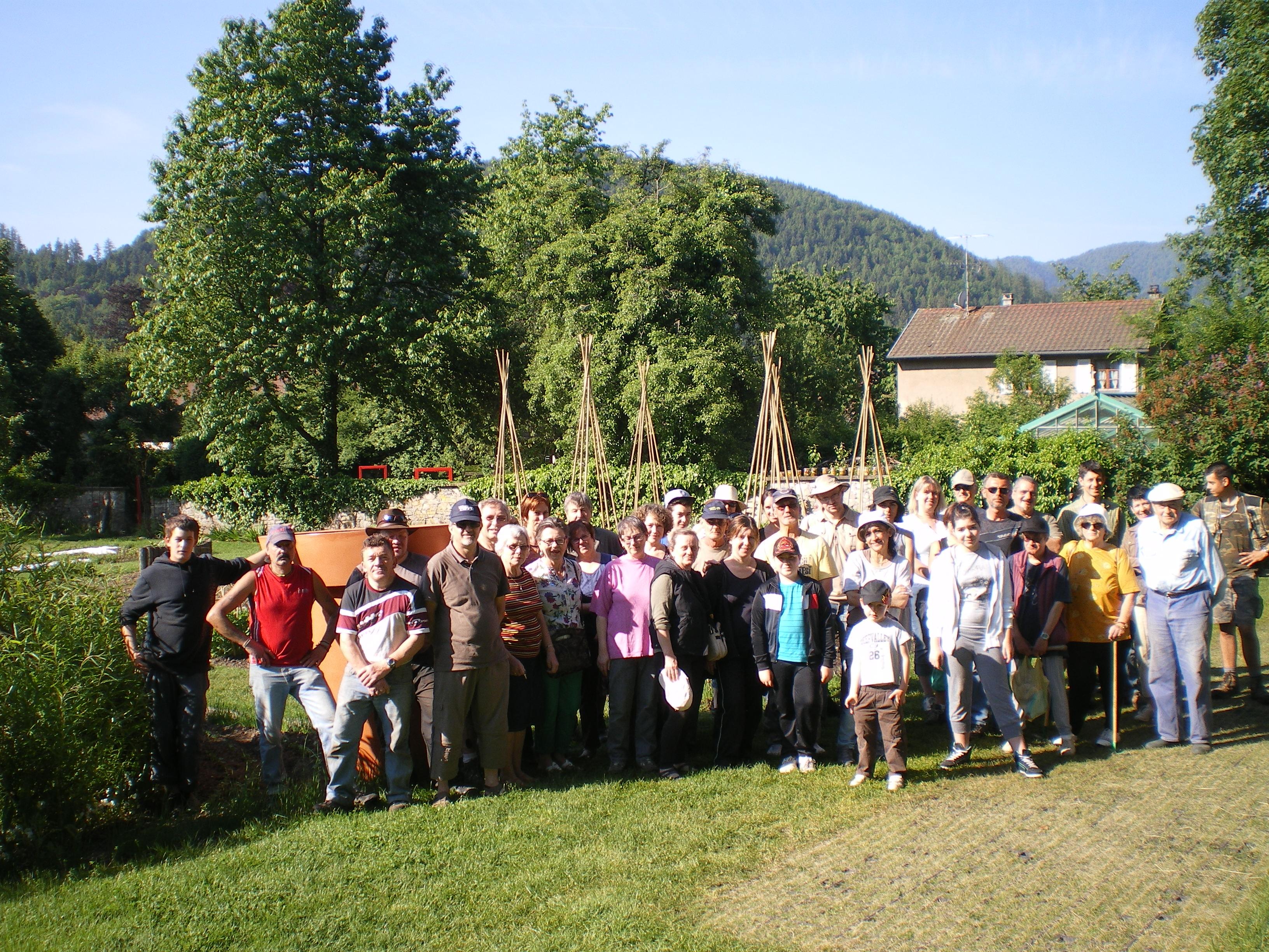 Les jardins familiaux de thann wesserling les jardins for Jardin wesserling