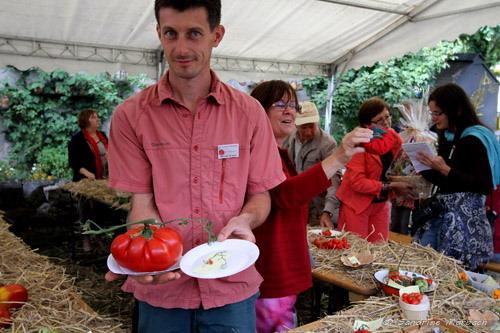 Les lauréates du concours de la tomate